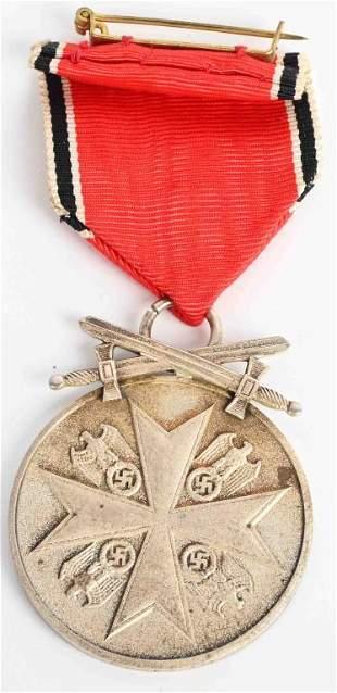 WWII ORDER OF THE GERMAN EAGLE MERIT MEDAL SWORDS