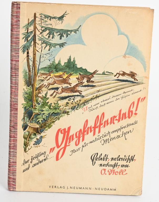 WWII NAZI GERMAN ANTI SEMITIC CARTOON BOOK WW2