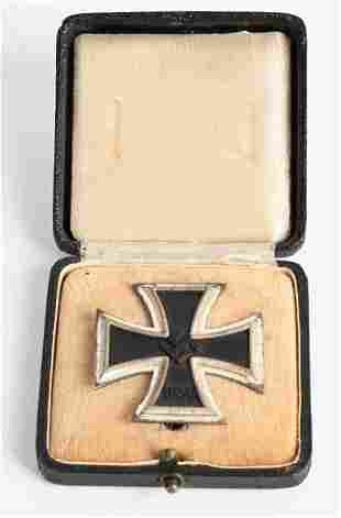 WWII NAZI GERMAN 1ST CLASS IRON CROSS EKI WW2