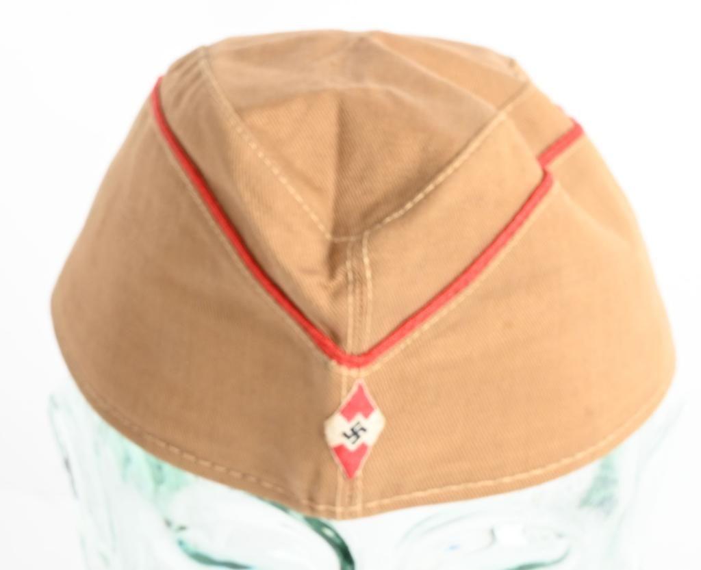 WWII NAZI GERMAN HITLER YOUTH OVERSEAS CAP WW2