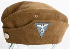 WWII NAZI GERMAN SA GARRISON OVERSEAS CAP WW2
