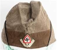 WWII NAZI GERMAN RAD EM/NCO'S OVERSEAS CAP WW2