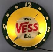 VESS DOUBLE BUBBLE LIGHT-UP CLOCK