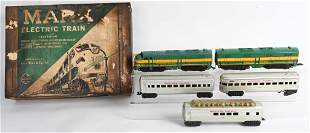 MARX WESTERN PACIFIC ELECTRIC TRAIN SET w/ BOX