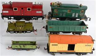 PREWAR TRAIN LOT