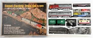 MARX SANTA FE DIESEL ELECTRIC TRAIN SET w/ BOX