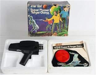 MEGO STAR TREK SUPER PHASER TARGET GAME w/ BOX