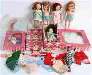 VINTAGE GINNY VOGUE DOLL LOT