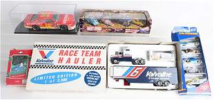 RACE CAR & HOT ROD DIECAST LOT, ALL w/ BOXES