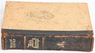 WWII NAZI GERMAN MEIN KAMPF WEDDING EDITION BOOK