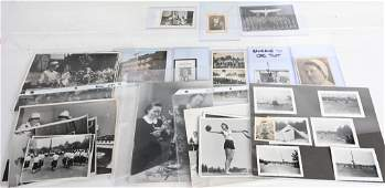 WWII NAZI GERMAN PHOTO LOT HJ BDM ORG> TODT WW2