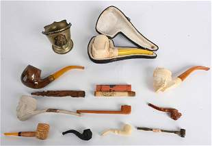 IMPERIAL GERMAN PIPE AND TOBACCOIANA LOT
