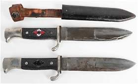 WWII NAZI GERMAN HITLER YOUR KNIFE LOT WW2