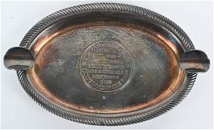 WWII USS LAWRENCE COMMEMORATIVE ASH TRAY