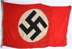 WWII NAZI GERMAN NSDAP FLAG 48X30 WW2