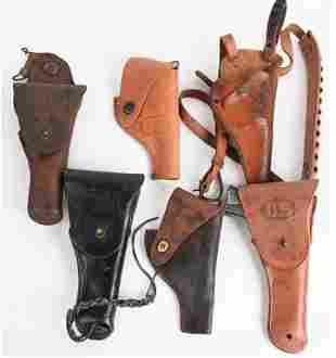 US ARMY USMC MILITARY HOLSTER LOT WWII - VIETNAM