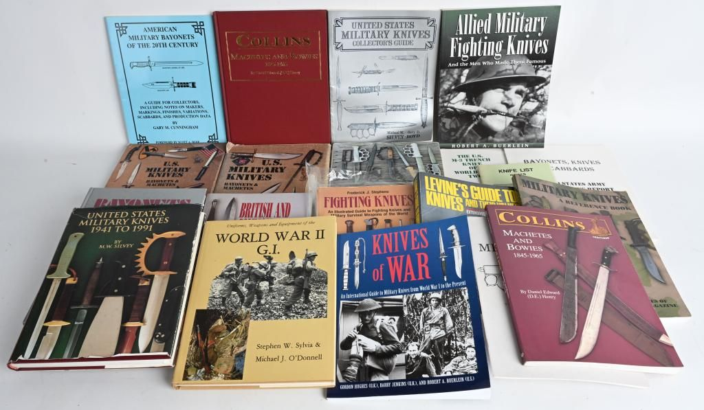 MILITARY FIGHTING KNIVES REFERENCE BOOK LOT