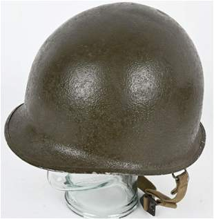 WWII US ARMY M1 COMBAT HELMET W WESTINGHOUSE LINER