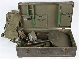 WWII CASED SCR-625 C MINE DETECTOR OR SWEEPER WW2