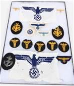 WWII NAZI GERMAN KRIEGSMARINE INSIGNIA GROUP WW2