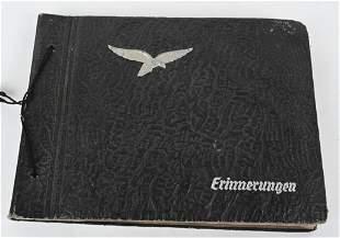WWII NAZI GERMAN LUFTWAFFE PHOTO ALBUM WW2