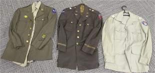 8 WWII US ARMY AIR CORPS UNIFORMS CBI