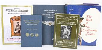 AMERICAN MILITARY REFERENCE BOOK LOT OF 5