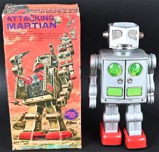SH BATTERY OP ATTACKING MARTIAN w/ BOX