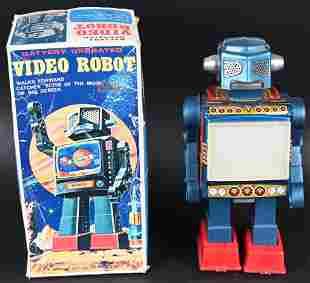 SH BATTERY OP VIDEO ROBOT w/ BOX