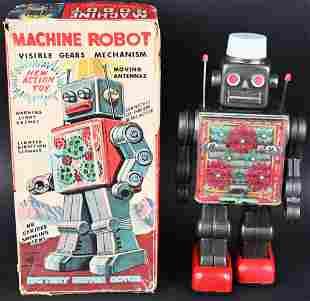 SH BATTERY OP MACHINE ROBOT w/ BOX