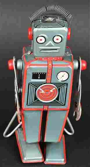 LINEMAR TIN WINDUP EASEL BACK ROBOT