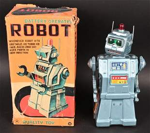 YONEZAWA BATTERY OP DIRECTIONAL ROBOT w/ BOX