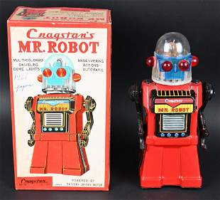 CRAGSTAN BATTERY OP MR. ROBOT w/ BOX