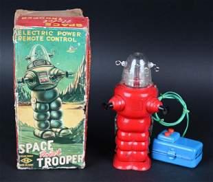 KO BATTERY OP SPACE ROBOT TROOPER w/ BOX