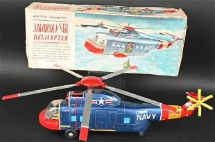 YONE BATTERY OP SIKORSKY S-61 HELICOPTER w/ BOX
