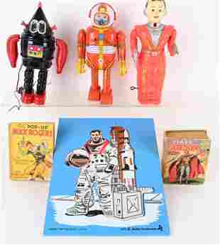 LOT OF SPACE TOYS