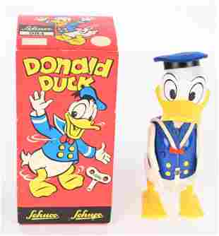 SCHUCO WINDUP DONALD DUCK w/ BOX