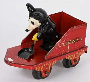 LIONEL MICKEY MOUSE COAL TENDER