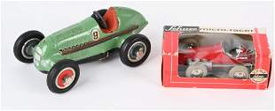 2- SCHUCO WINDUP RACE CARS