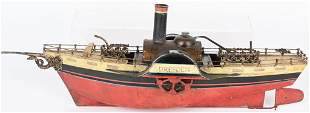 Rock & Graner Live Steam Paddle Wheel Boat