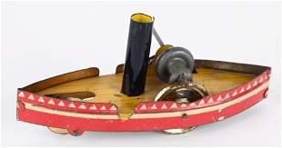 GERMAN STEAM SHIP NICKEL TOY