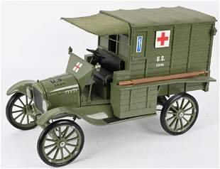 KING K FORD MODEL T US MILITARY AMBULANCE