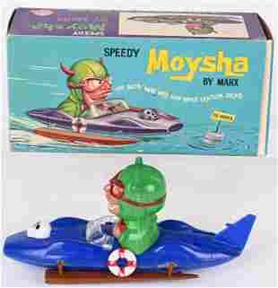 MARX FRICTION NUTTY MAD MOYSHA BOAT w/ BOX