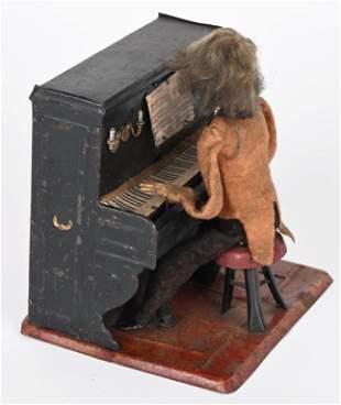 F MARTIN TIN WINDUP PIANO PLAYER