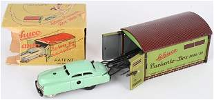 SCHUCO TIN WINDUP VARIANTO CAR & GARAGE w/ BOX