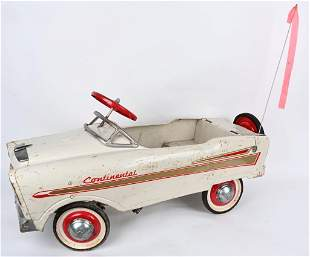MURRAY CONTINENTAL PEDAL CAR w/ OPENING TRUNK
