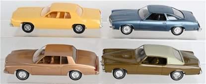 4- 1970s-80 GENERAL MOTORS PROMO CARS