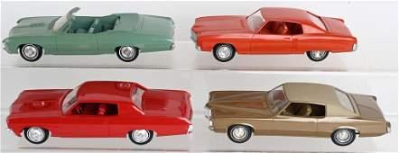 4- GENERAL MOTORS PROMO CARS