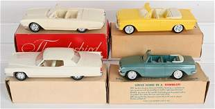 6- ORIGINAL PROMO CARS w/ BOXES