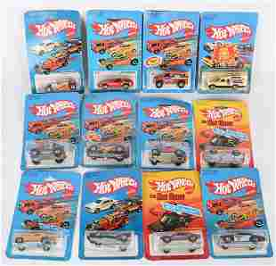 12- 1970s HOT WHEELS CARS MOC